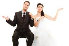 Relations dans les ménages mariés Photos libres de droits