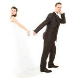 Relations dans les ménages mariés Photo stock