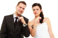 Relations dans les ménages mariés Photographie stock libre de droits