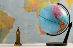 Relations de Londres avec le monde Image stock