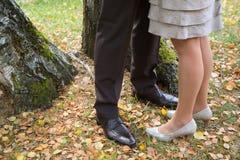 Relations de maîtresse : l'homme et la femme ont un secret de date Photos stock