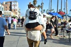 Relations heureuses de couples Images libres de droits