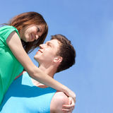 Relations between men and women. Youth Stock Photography
