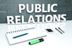 Relations publiques Photographie stock libre de droits
