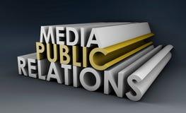 Relations publiques Photo stock