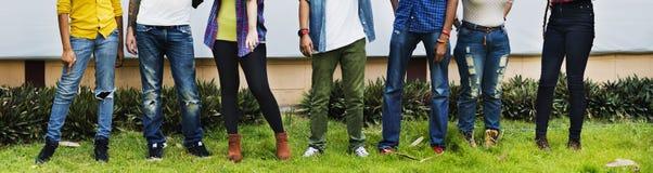 Relations Team Togetherness Concept d'amitié de personnes Photo libre de droits