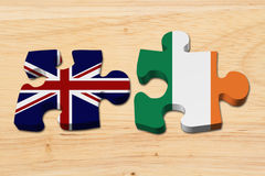 Relationship between the Britain and Ireland Royalty Free Stock Images