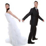 Relationship concept couple in divorce crisis Royalty Free Stock Photography