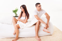 Relationship conflict Royalty Free Stock Photography