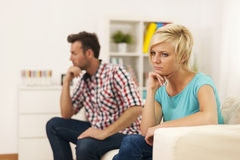 Relationship conflict Stock Images