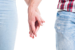 Relationship or couple togetherness concept Stock Image