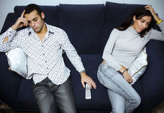 Relationship difficulties Stock Photos