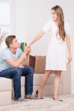 Relationship difficulties. Royalty Free Stock Image