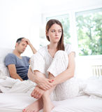 Relationship difficulties Stock Photography