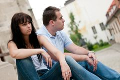 Relationship problems Royalty Free Stock Photos