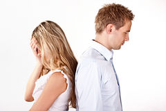 Relationship problems Royalty Free Stock Image
