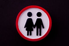 Relationship sign Royalty Free Stock Images