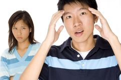 Relationship Stress Stock Images