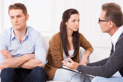 Relationship troubles. Royalty Free Stock Photo