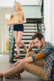 Relationship troubles. Stock Images