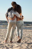 Relationships on background of ocean Stock Photo