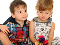 Relationships of children Royalty Free Stock Photography