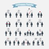 Relationships concept stock illustration