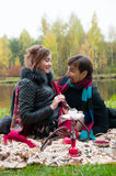Relationships between men and women Royalty Free Stock Photography