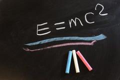 Relativiteitstheorie Stock Foto's