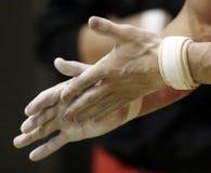 Relativo alla ginnastica, Fotografia Stock