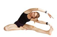 Relativo alla ginnastica Fotografie Stock Libere da Diritti