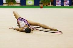 Relativo alla ginnastica ritmico Fotografia Stock Libera da Diritti