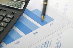 Relatório de negócio Imagem de Stock