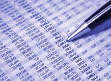 Relatório de negócio Fotografia de Stock