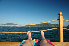 Relax. A holiday in turkey Royalty Free Stock Photo