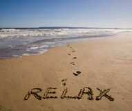 Relax Royalty Free Stock Photography