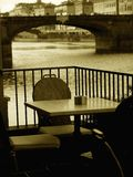 Relax on the Arno river royalty free stock photos
