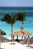 Relax on the beach. Ready to relax on the beach in a tropical resort Stock Images