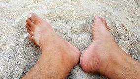 Relax on the beach Royalty Free Stock Images
