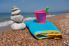 Relax at the beach Royalty Free Stock Images