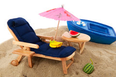Relax at the beach Royalty Free Stock Image