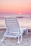 Relax on the beach. Baltic sea Royalty Free Stock Image