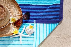 Relax on beach Royalty Free Stock Photos