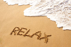 Relax in Beach Stock Photos