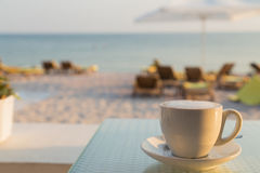 Relax on the beach Royalty Free Stock Photography