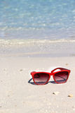 Relax on the beach with clean blue water Royalty Free Stock Photo