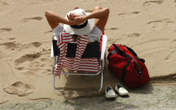 Relax on the beach - Spain Stock Photography