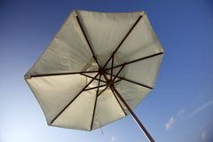 Relax beach umbrella Stock Photo