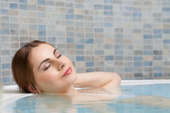Relax at beauty center Royalty Free Stock Photos