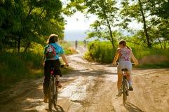 Relax biking Royalty Free Stock Photos